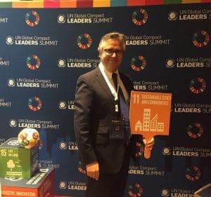 UN Global Compact Leaders Summit 2017   ACTUARIA