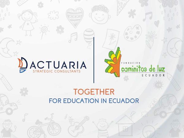 Caminitos de luz foundation | ACTUARIA