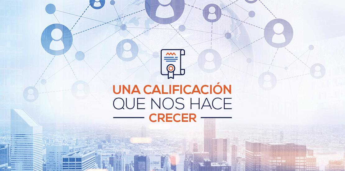 Nueva Calificación ACTUARIA | ACTUARIA
