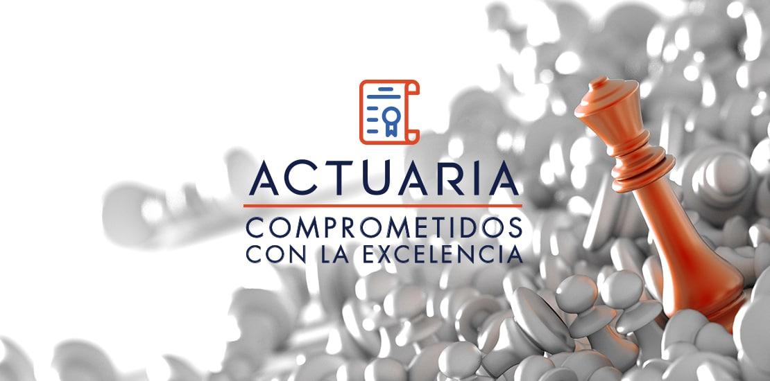 Certificado de Gestión de Calidad ISO9001 2015 | ACTUARIA